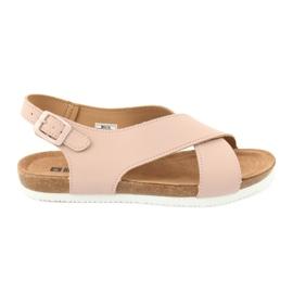 Sandalias de mujer Big Star FF274624 rosa