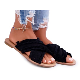 Chanclas para mujer Vices 7269 Black Jamen negro
