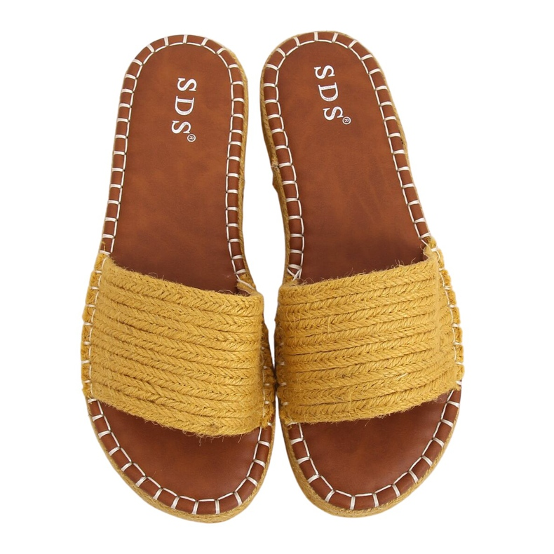 Chanclas alpargatas Honey 7970-PL Amarillo