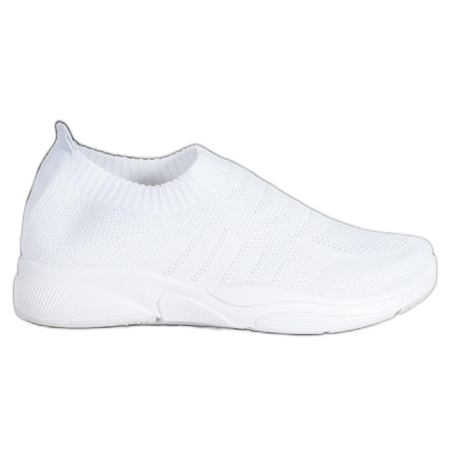 Sweet-Shoes-Zapatillas-de-plataforma-comodas-blanco