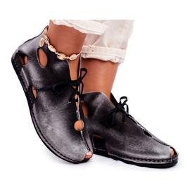 Zapatos de mujer Maciejka Popiel 03426-03 gris