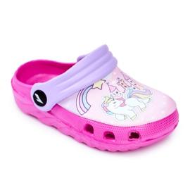 Zapatillas de niños Crocs de espuma Ponis rosas Poni