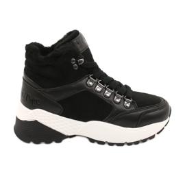 Botas deportivas cómodas Lee Cooper LCJL-20-31-152 negro