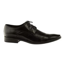 Zapatos de cuero Pilpol 1385 negro
