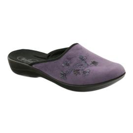 Zapatillas de mujer befado zapatillas 552D006 púrpura multicolor 1