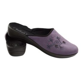 Zapatillas de mujer befado zapatillas 552D006 púrpura multicolor 3