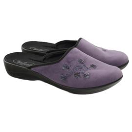Zapatillas de mujer befado zapatillas 552D006 púrpura multicolor 4