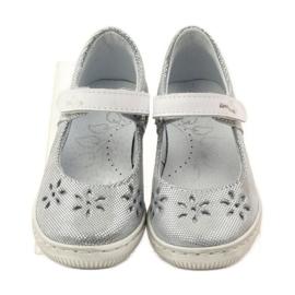 Zapatillas bailarinas de chicas de Ren But 3285 gris 4