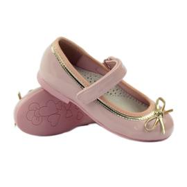 American Club Zapatillas bailarinas con lazo americano. rosa 3
