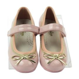 American Club Zapatillas bailarinas con lazo americano. rosa 4
