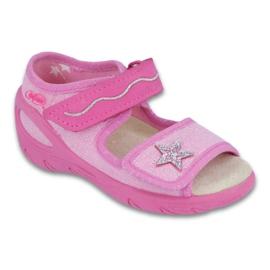 Calzado infantil befado pu 433X032 rosa 1