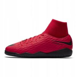 Zapatos de interior Nike HypervenomX Phelon rojo 1