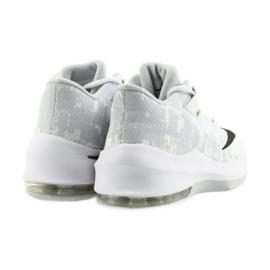 Zapatillas de baloncesto Nike Air Max Infuriate 2 blanco blanco 4