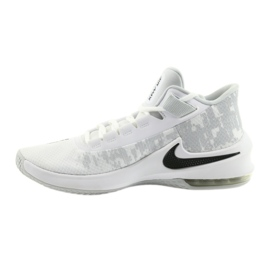 Zapatillas de baloncesto Nike Air Max Infuriate 2 blanco blanco 1