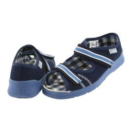 Sandalias zapatos infantiles Velcro Befado 969x101 azul marino 5