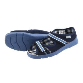 Sandalias zapatos infantiles Velcro Befado 969x101 azul marino 4