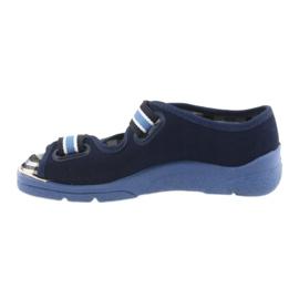 Sandalias zapatos infantiles Velcro Befado 969x101 azul marino 2