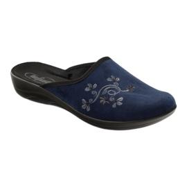 Zapatos de mujer befado pu 552D005 azul marino 2