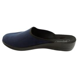 Zapatos de mujer befado pu 552D005 azul marino 3