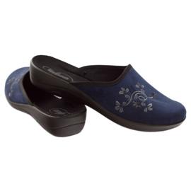 Zapatos de mujer befado pu 552D005 azul marino 4