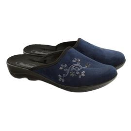 Zapatos de mujer befado pu 552D005 azul marino 5