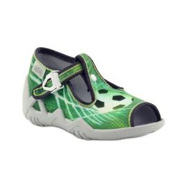 Zapatillas befado para niños 217P093 verde 2