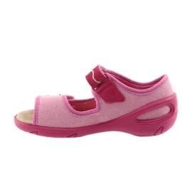 Calzado infantil befado pu 433X032 rosa 3