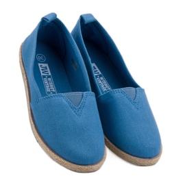 Alpargatas Infantiles azul 1