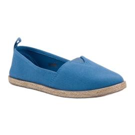 Alpargatas Infantiles azul 2