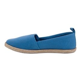 Alpargatas Infantiles azul 3