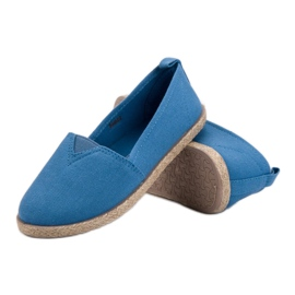 Alpargatas Infantiles azul 4