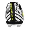 Botas de fútbol adidas Nemeziz 17.4 FxG Jr S82459 blanco negro blanco 2