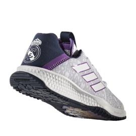 Zapatillas Adidas Rapida Turf Real Madrid Fc Jr. BA9699 blanco blanco 2