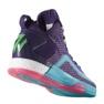 Zapatillas de baloncesto adidas John Wall 2 Boost Prime Knit M D70028 púrpura morado, rosa 1