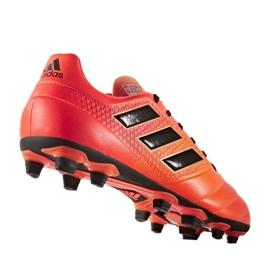 Zapatillas de fútbol adidas Ace 17.4 FxG M S77094 rojo naranja rojo 1
