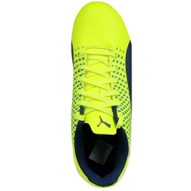 Calzado de fútbol Puma Adreno Iii Fg Safety Junior 104049 10 verde oro 1