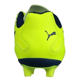 Calzado de fútbol Puma Adreno Iii Fg Safety Junior 104049 10 verde oro 2