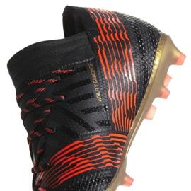 Zapatillas de fútbol adidas Nemeziz 17.1 Fg Jr CP9152 negro 2