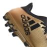 Zapatillas de fútbol adidas X 17.3 Ag M CP9233 dorado negro oro 2