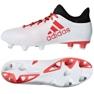 Zapatillas de fútbol adidas X 17.3 Sg M CP9202 blanco blanco rojo 2