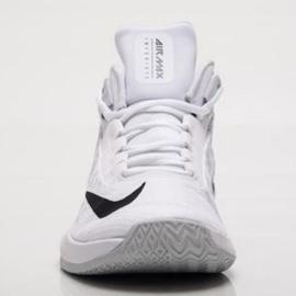 Zapatillas de baloncesto Nike Air Max Infuriate 2 Mid M AA7066-100 blanco blanco 2