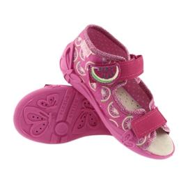 Calzado befado amarillo para niños 342P004 rosa 4
