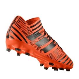 Botas de fútbol adidas Nemeziz 17.3 Fg M S80604 naranja naranja 1
