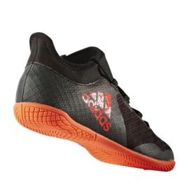 Zapatillas de fútbol Adidas X Tango 17.3 In Jr CG3724 negro naranja negro 1