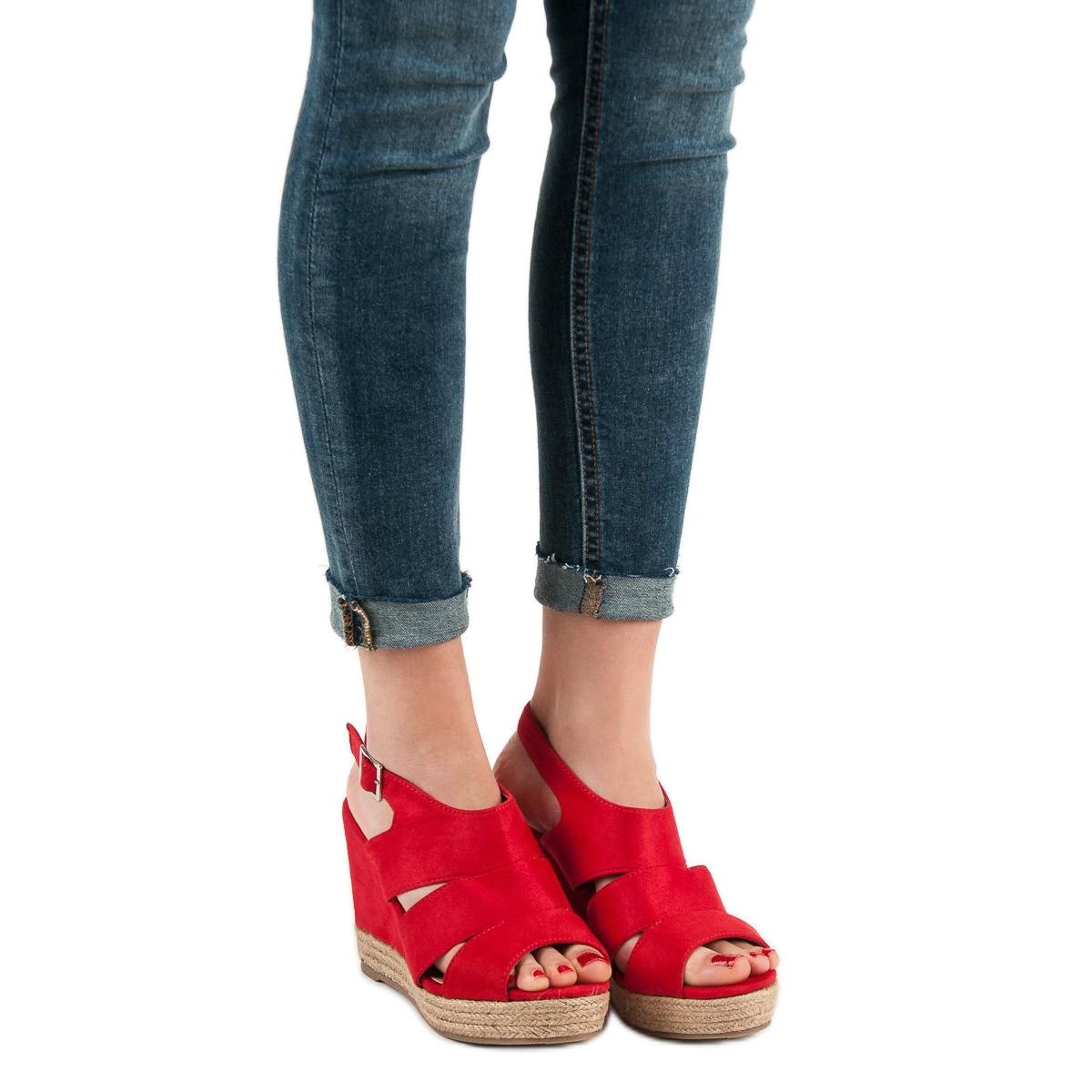 pl Alpargatas Sandalias De Best Rojo Rojas Butymodne Shoes shQtrCxBd