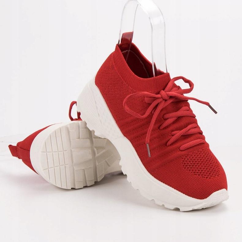 Rojo Zapatillas de deporte VICES ranuradas imagen 1