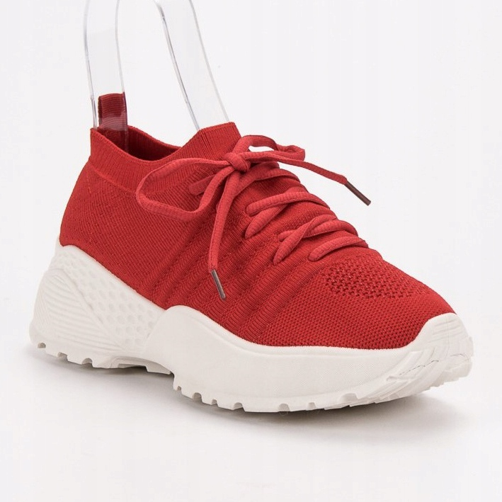 Rojo Zapatillas de deporte VICES ranuradas imagen 3