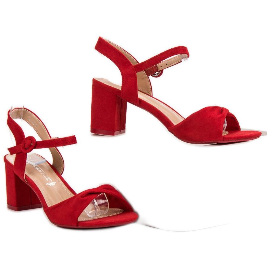 Rojas Rojo Elegantes Sandalias Rojas Rojo Elegantes Sandalias b6Y7ygf