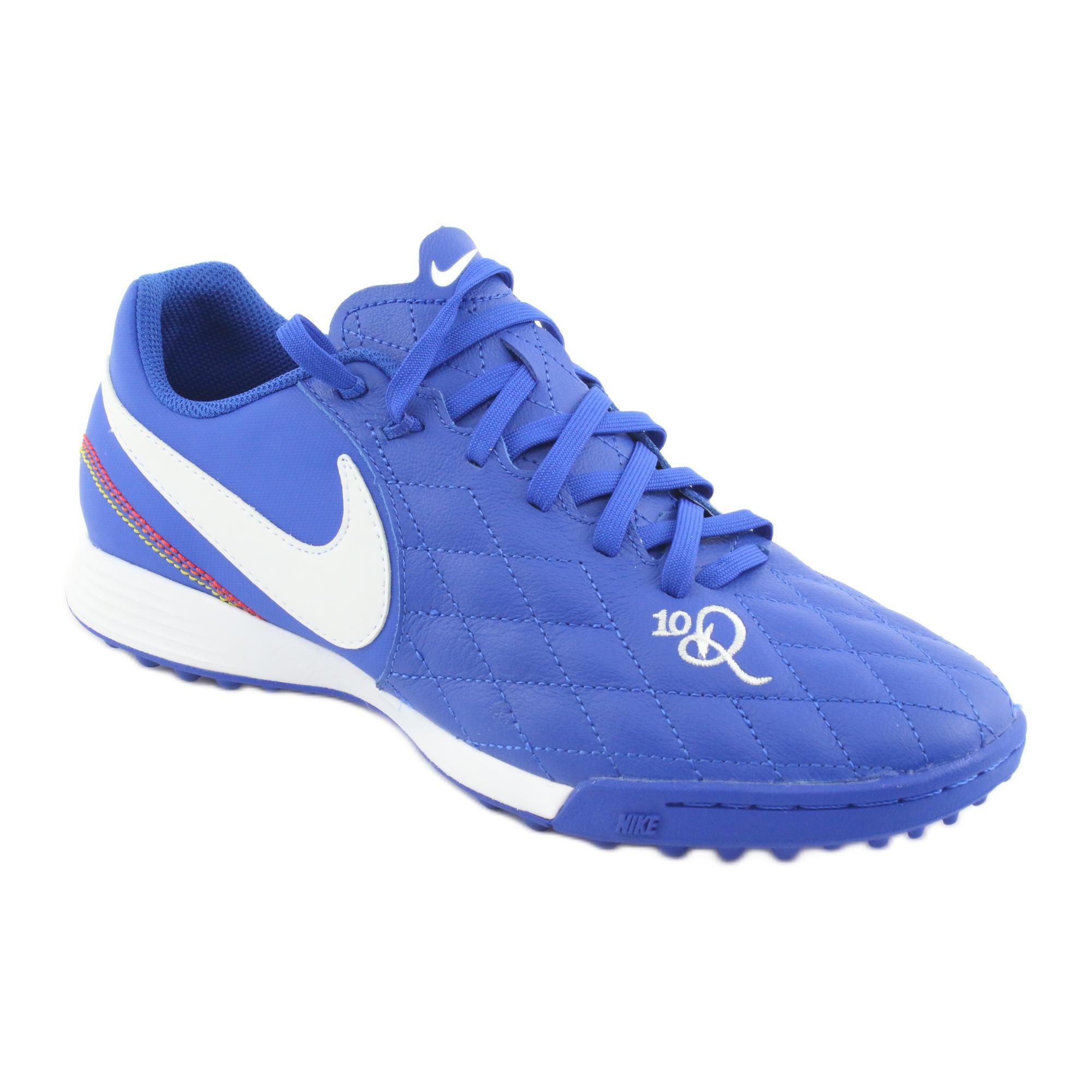 Calzado de fútbol Nike Tiempo Legend 7 Academy 10R Tf M AQ2218 410 azul azul
