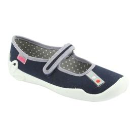 Calzado befado azul marino 114Y317 1